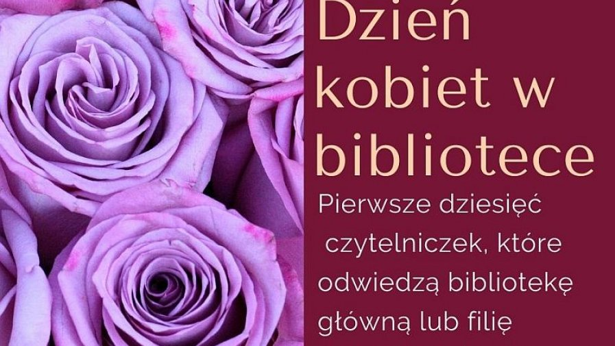 DZIEŃ KOBIET W BIBLIOTECE